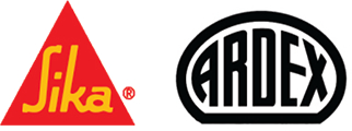 Logo of Sika and Ardex