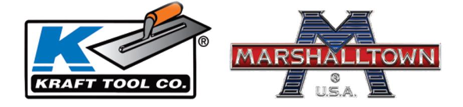 Logos of Kraft Tool and Marshalltown