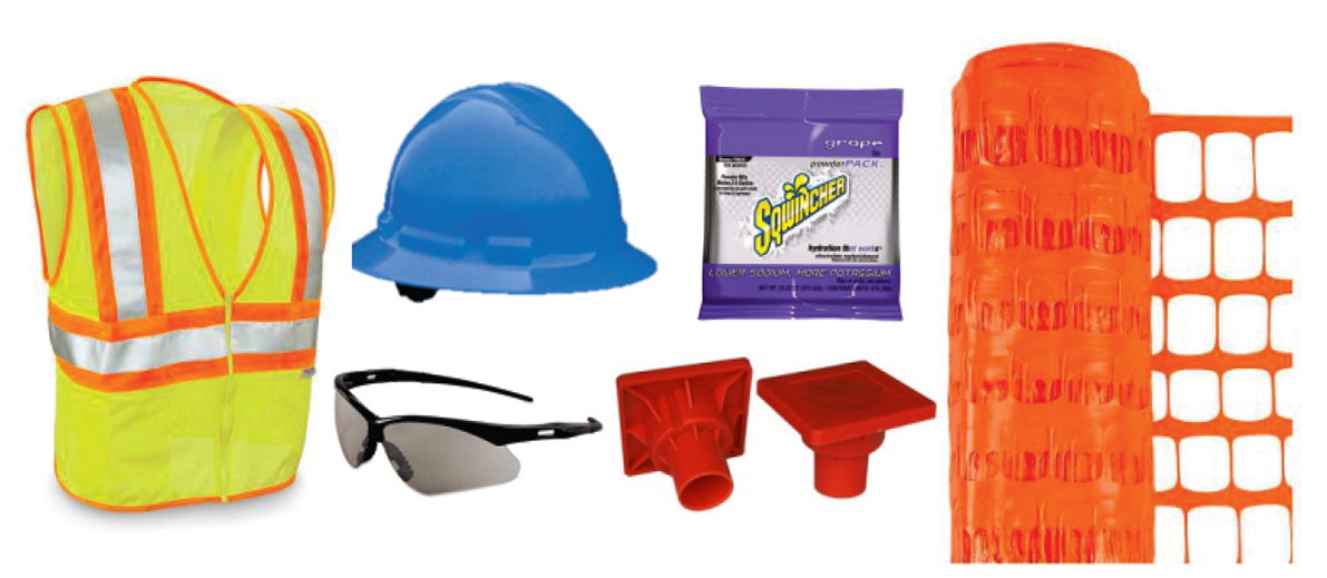 Image of safety tools
