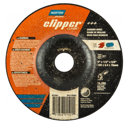 Norton Clipper Grinding Wheel