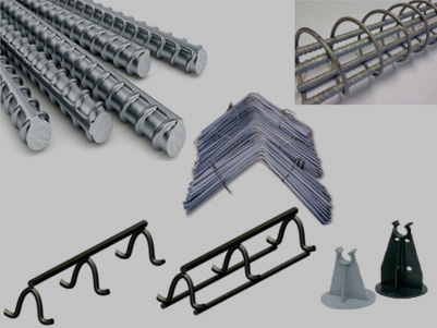 Rebar & Accessories items